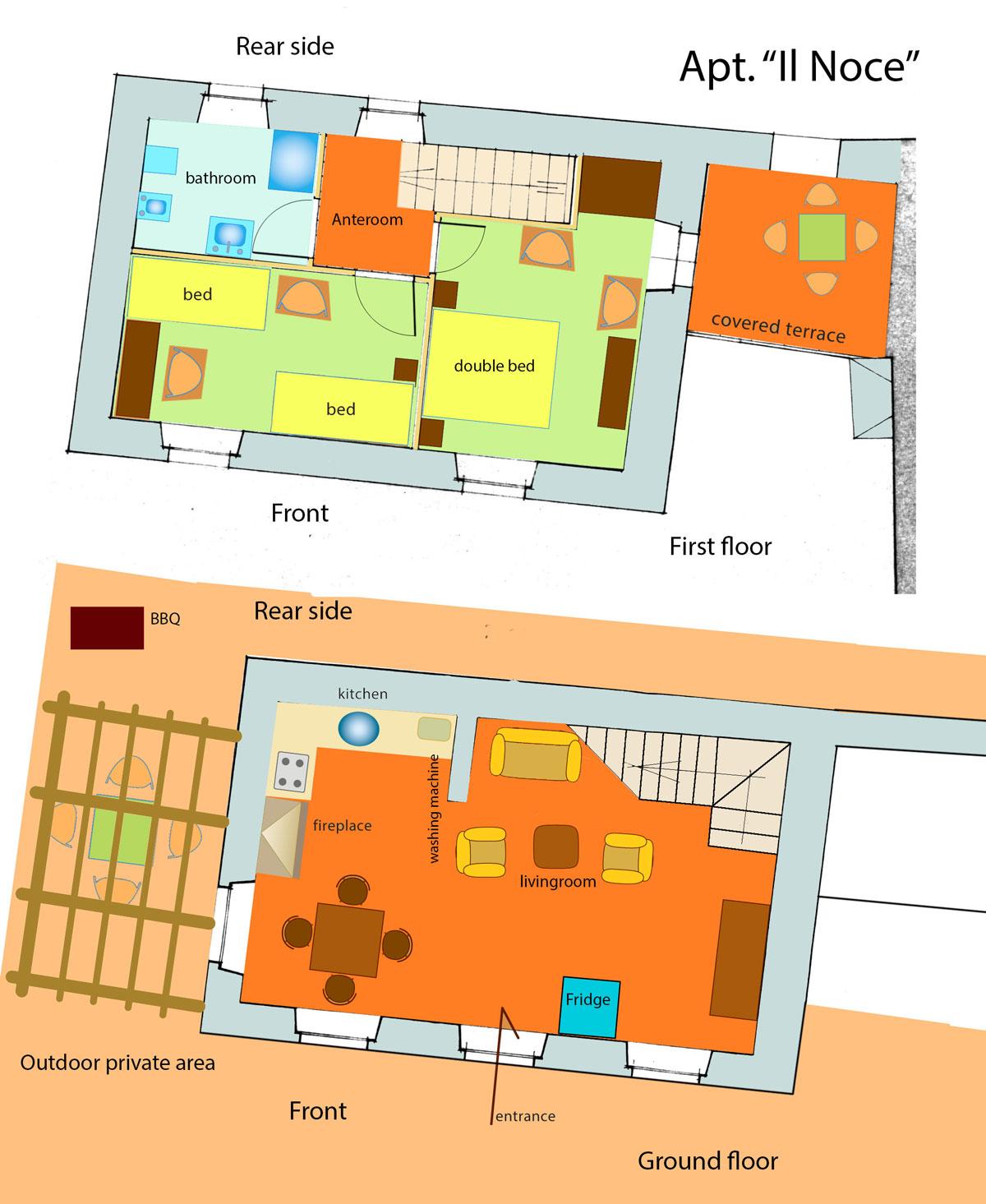 layout apt1, Il Noce